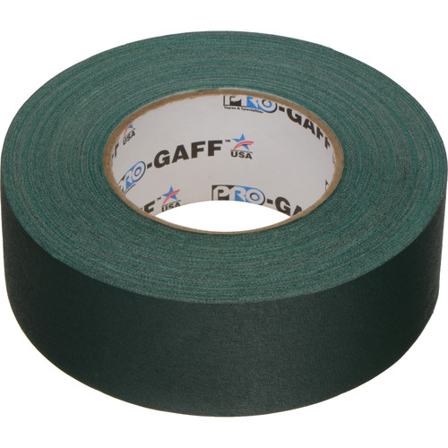 "ProTapes Pro Gaffer Tape (2"" x 55 yd, Green)"
