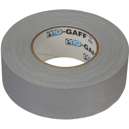 """ProTapes Pro Gaffer Tape (2"""" x 55 yd, Gray)"""