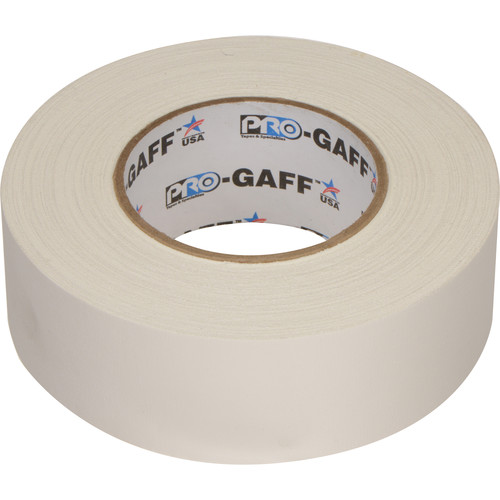 """ProTapes Pro Gaffer Tape (2"""" x 55 yd, White)"""