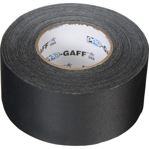 """ProTapes Pro Gaffer Tape (3"""" x 55 yd, Black)"""