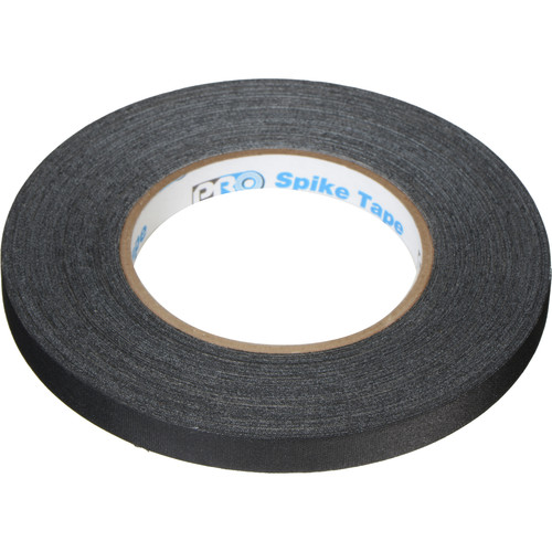 "ProTapes Pro Spike Tape - 1/2"" x 45 (Black)"