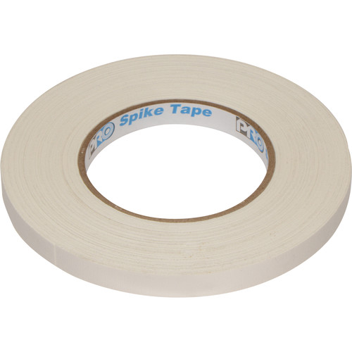 """ProTapes Pro Spike Tape (1/2"""" x 45 yd, White)"""