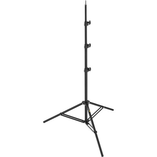 General Brand Air-cushioned Light Stand (Black, 8')