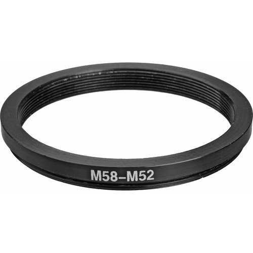General Brand 58mm-52mm Step-Down Ring (Lens to Filter)