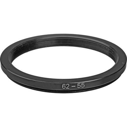 General Brand 62-55mm Step-Down Ring (Lens to Filter)