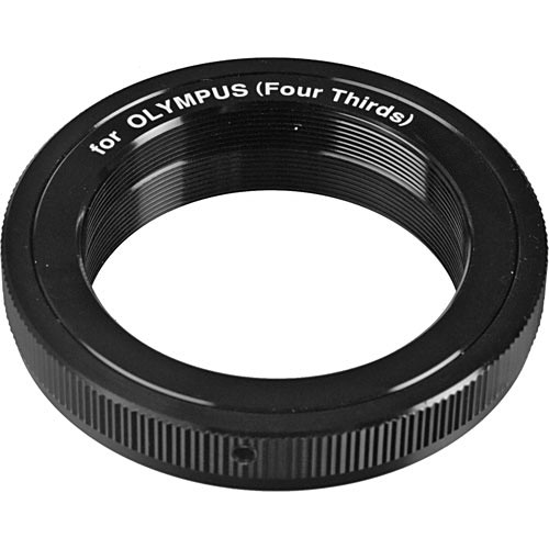 General Brand T-Mount SLR Camera Adapter for Four Thirds Cameras