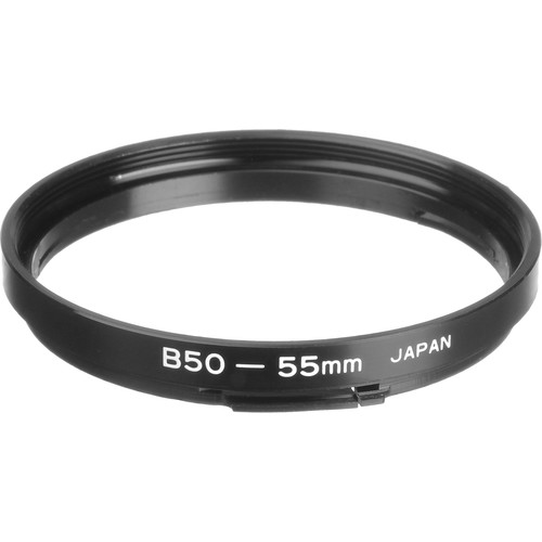 General Brand Bayonet 50-55mm Step-Up Ring (Lens to Filter)