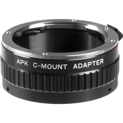 General Brand C-Mount Adapter for Pentax K Lens