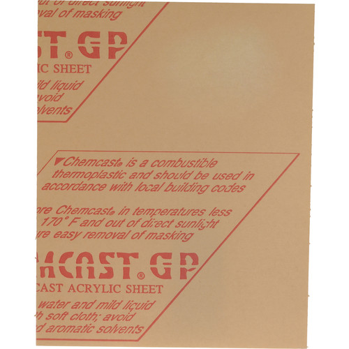 "General Brand Contact Glass (Clear Plexiglass, 9.5 x 11.5 x .25"")"
