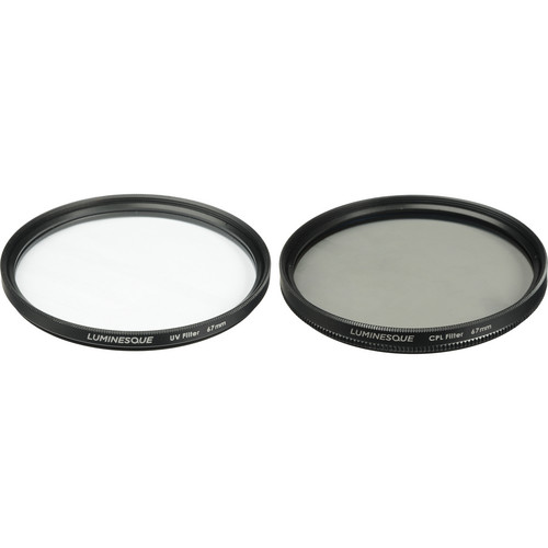 Luminesque 67mm UV and Circular Polarizer Multi Coated Pro Filter Kit