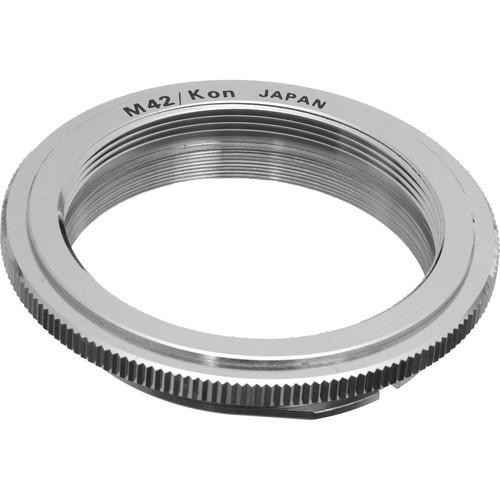 General Brand Lens Mount Adapter - Universal Lens (M42) on Konica SLR Body
