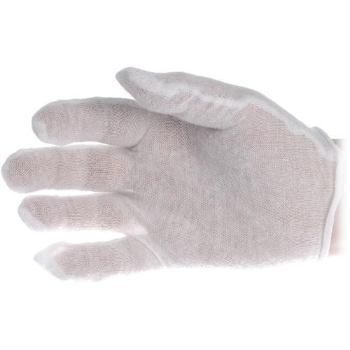 General Brand Lintless Cotton White Gloves (12 Pairs)