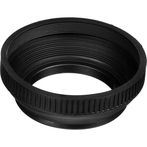 General Brand 52mm Collapsible Rubber Lens Hood