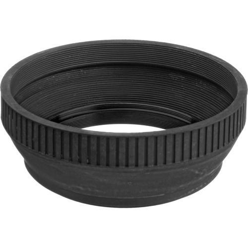 General Brand 62mm Collapsible Rubber Lens Hood