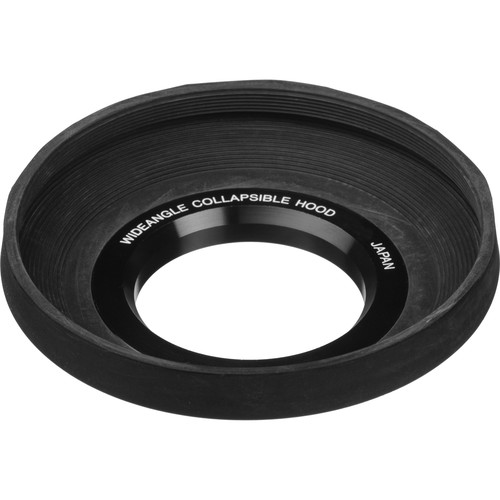 General Brand 62mm Screw-In Rubber Wide Angle Lens Hood