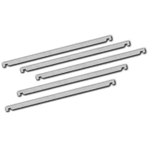 General Brand Hanger Spine (Bar), Letter Size, Plastic - 100 Pack