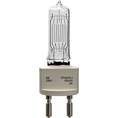 General Electric Quartzline CP40 FKJ Halogen Lamp (230V, 1000W)