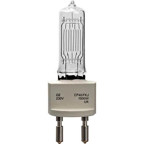 General Electric Quartzline CP40 FKJ Halogen Lamp (230V, 1000W)