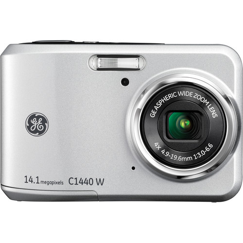 General Electric C1440W Digital Camera (Silver)
