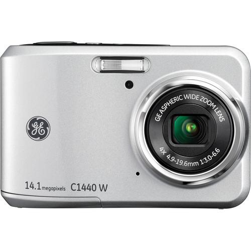 General Electric C1440W Digital Camera (Silver)