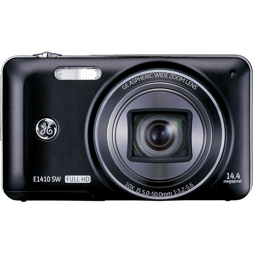 General Electric E1410SW Digital Camera (Black)