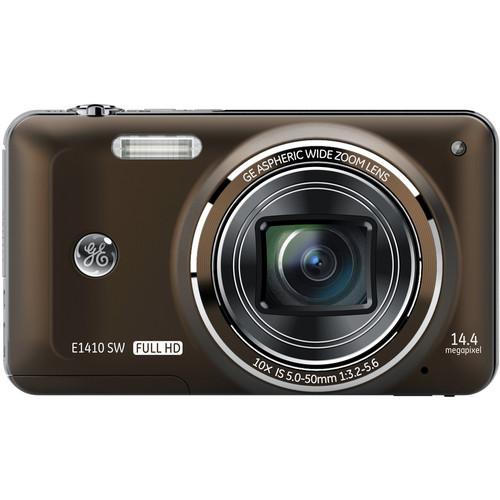 General Electric E1410SW Digital Camera (Brown)