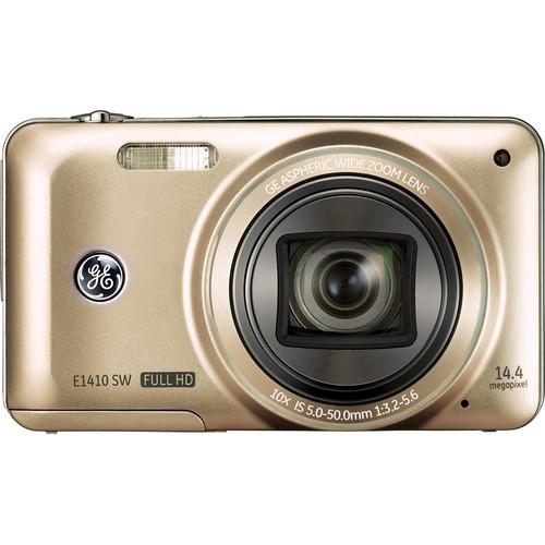 General Electric E1410SW Digital Camera (Champagne)