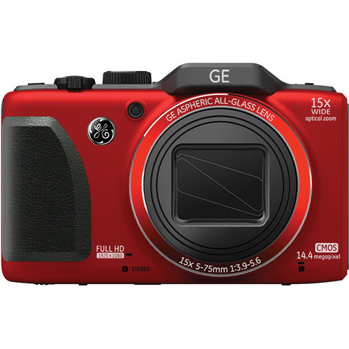 General Electric G100 Digital Camera (Red)