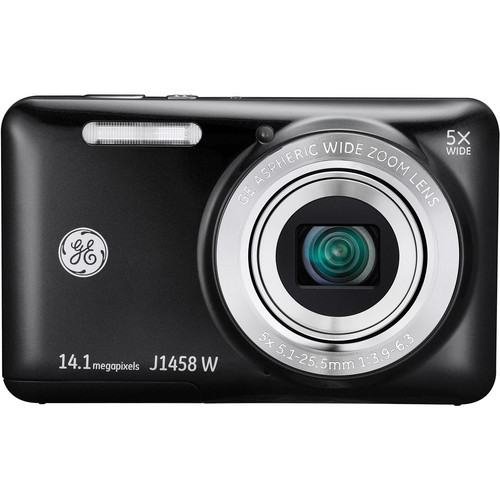 General Electric J1458W Digital Camera (Black)