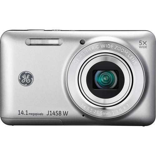 General Electric J1458W Digital Camera (Silver)