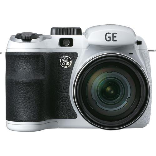 General Electric X500 Bridge Digital Camera (White)