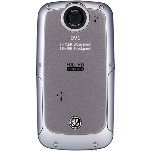 General Electric DV1 1080p HD Digital Video Camera (Gray)
