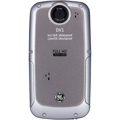 General Electric DV1 1080p HD Digital Video Camera (Gray)