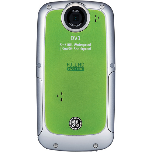 General Electric DV1 1080p HD Digital Video Camera (Lime Green)