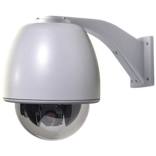 Interlogix Legend IP 26x Day/Night Dome Camera (Wall Mount, Smoke Acrylic Bubble)