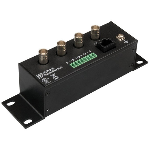 Interlogix UTP Passive Transceiver Hub (4-Channel)