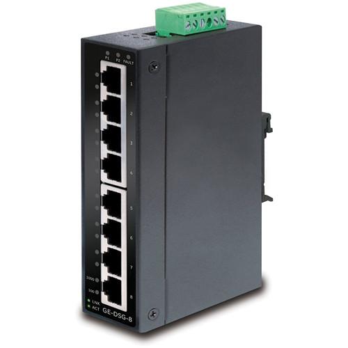 General Electric GE-DSG-8 8-Port 10/100/1000 Gigabit Ethernet Unmanaged Switch