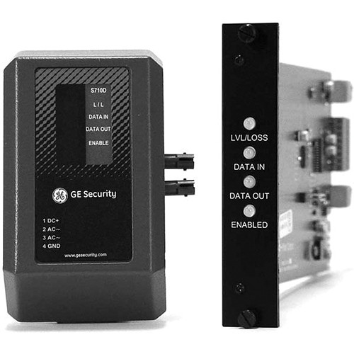 Interlogix S710D Fiber Optic Data Transceiver (Rack Card)