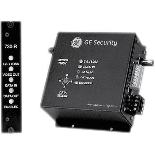 Interlogix S730DV Single Channel Fiber Optic Video Transmitter (Rack)