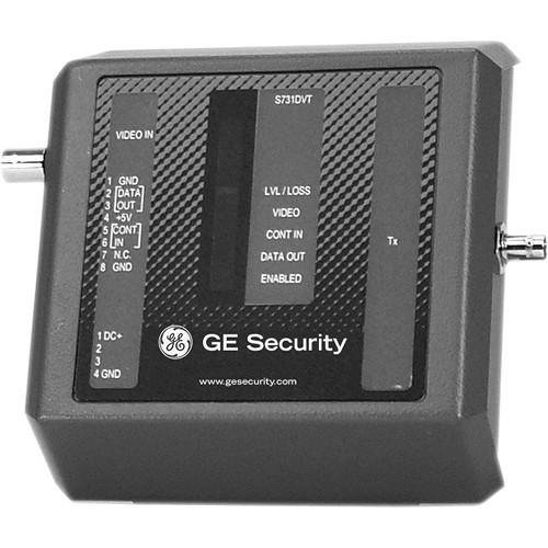 Interlogix S734DV 4-Channel Fiber Optic Video Transmitter (Standalone)