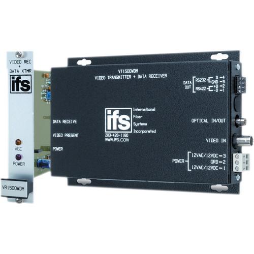 Interlogix VR1500 Video & Data Transceiver (850 nm, Rack)
