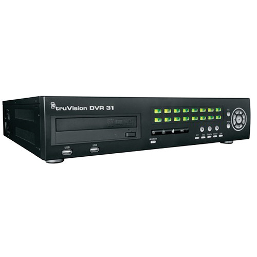 General Electric TVR-3116-4T TruVision 16-Channel H.264 DVR with DVD/CD (4 TB)