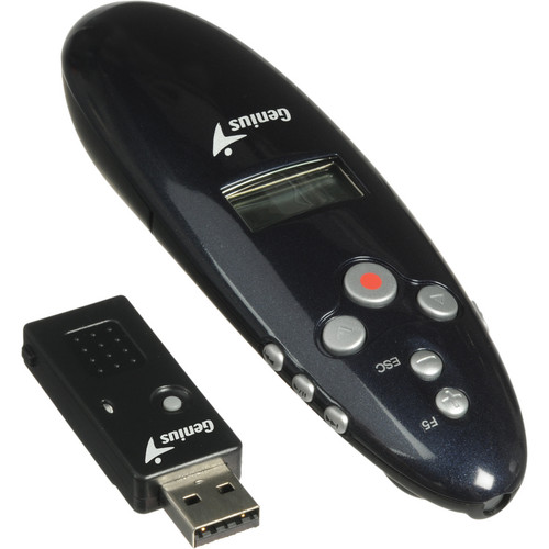 Genius Media Pointer 2.4 GHz Professional Presenter with Time Management