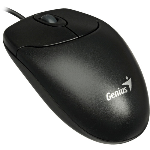 Genius NetScroll 120 Basic Optical Mouse (Black)
