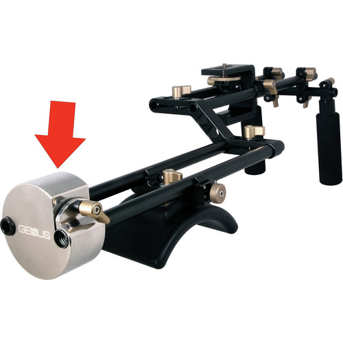 Genustech Counterweight for CSMK Shoulder Mount System (3.5 lb)