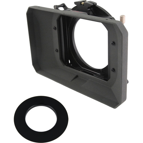 """Genustech GWMC Wide Angle Matte Box for 4 x 4"""" Filters (43mm Adaptor Ring)"""