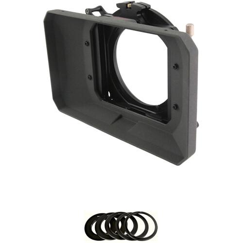 Genustech GWMC Wide 4x4 Matte Box Kit with 72mm Adapter Ring