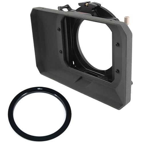 Genustech GWMC Wide 4x4 Matte Box Kit with 82mm Adapter Ring