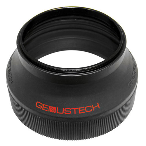 Genustech Genustech 77mm 3-in-1 Collapsible Fader Rubber Lens Hood