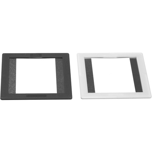 Gepe 6x4.5cm (3mm Thick) Medium Format Single-Sided Anti-Newton Glass Mounts - 20 Mounts